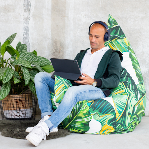beanbag work from home