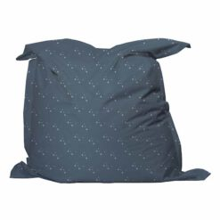 Zitzak blauw grijs kleine sterretjes