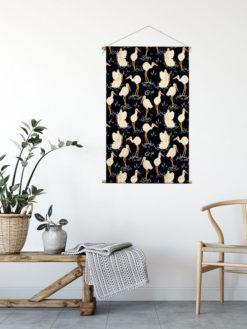 textiel woonposter