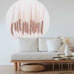 behangcirkel woonkamer