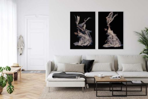akoestische kunst woonkamer