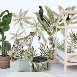 Naadloos Behang Kinderkamer Jungle