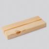 muurcirkel standaard hout