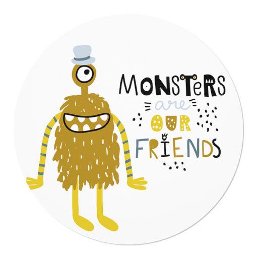 muurcirkel monsters