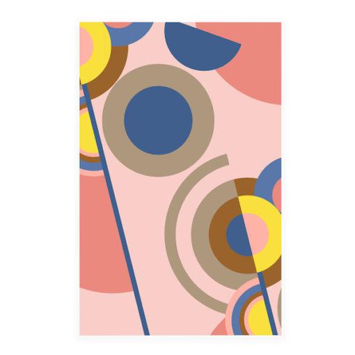 Acoustic Art Soft Scout Graphic Circles