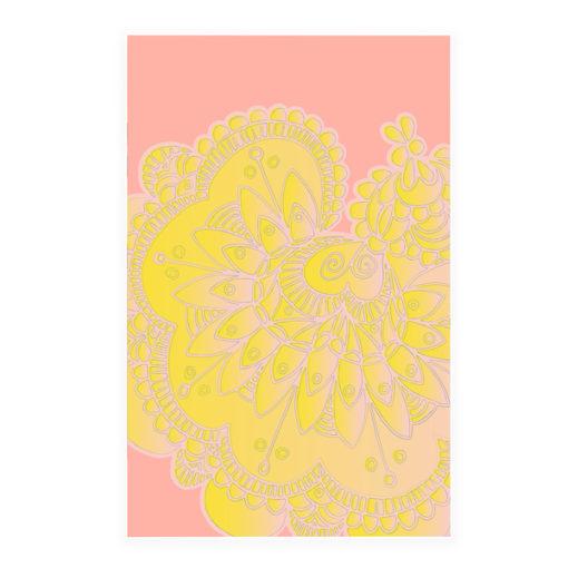 Acoustic Art Soft Scout Lace Flower Fade