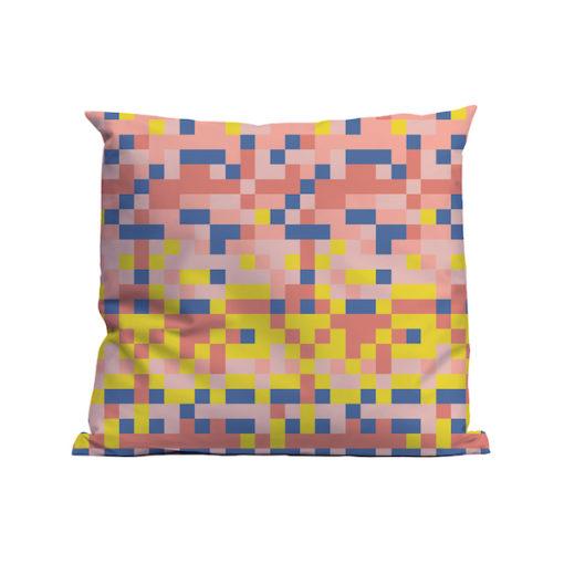 Kussen Soft Scout Blocks Pink