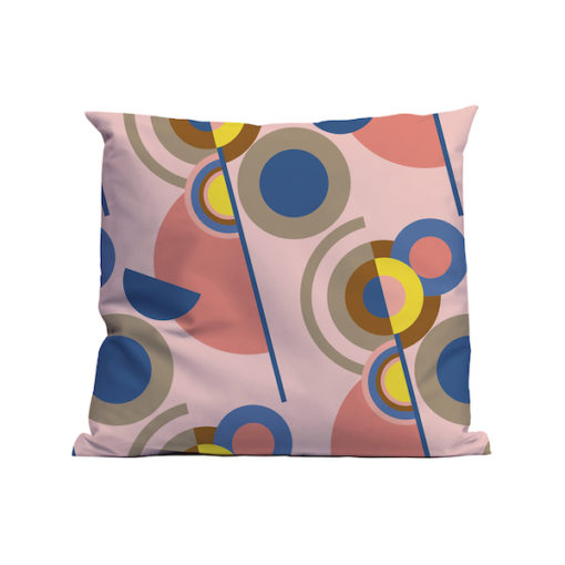 Kussen Soft Scout Graphic Circles