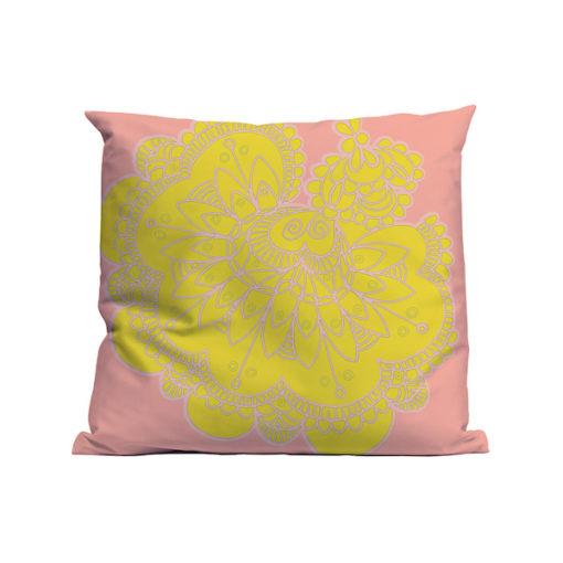 Kussen Soft Scout Lace Flower
