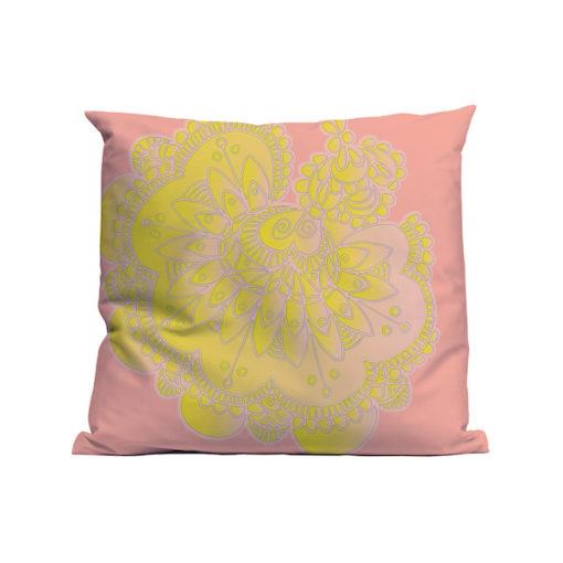 Kussen Soft Scout Lace Flower Fade