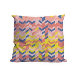 Kussen Soft Scout Zigzag Pink