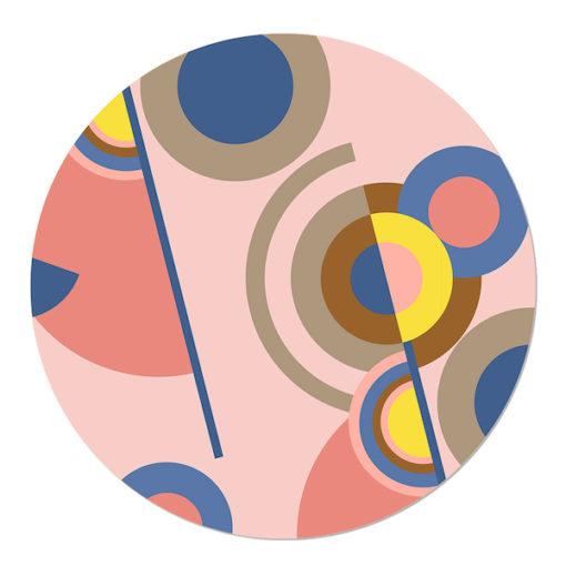 Muurcirkel Soft Scout Graphic Circles