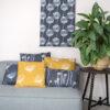 Textielposter en kussens