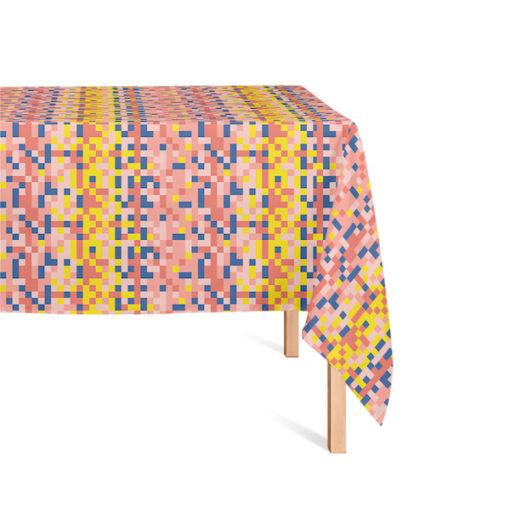 Tafelkleed Soft Scout Blocks Pink