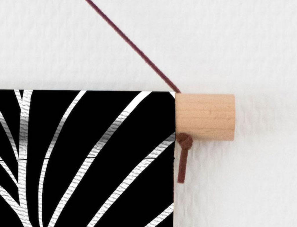Detail textielhanger