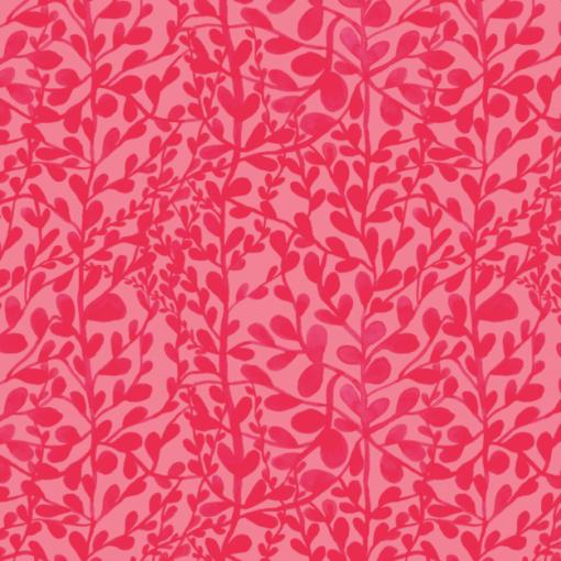 Print bladeren rood
