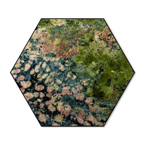 Hexagon Mos No.3