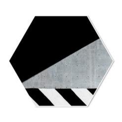 Hexagon Structuren op Straat No.1