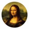 Muurcirkel Mona Lisa