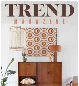 Tijdschrift met prints en patronen