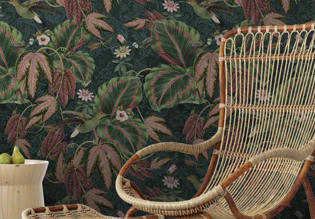 Retro Behang jungle