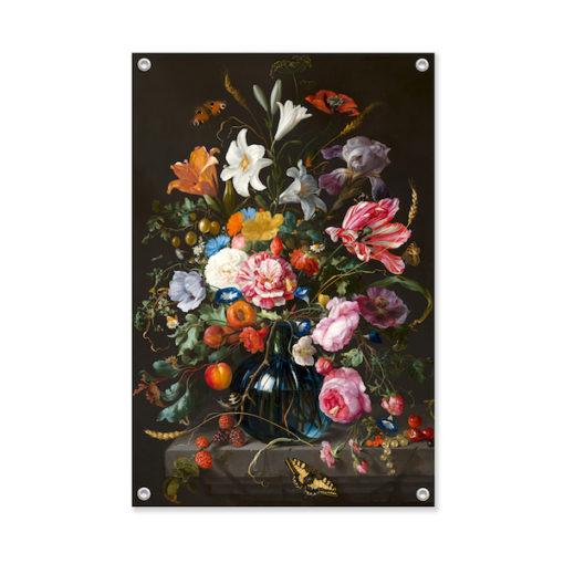 Tuinposter met bloemen