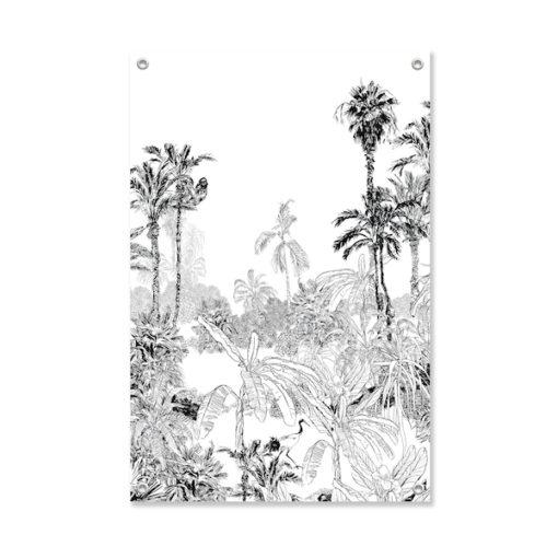 Tuinposter Vogel in de Jungle