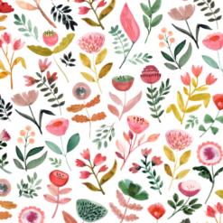 Patroon ontwerp bloemen kleur