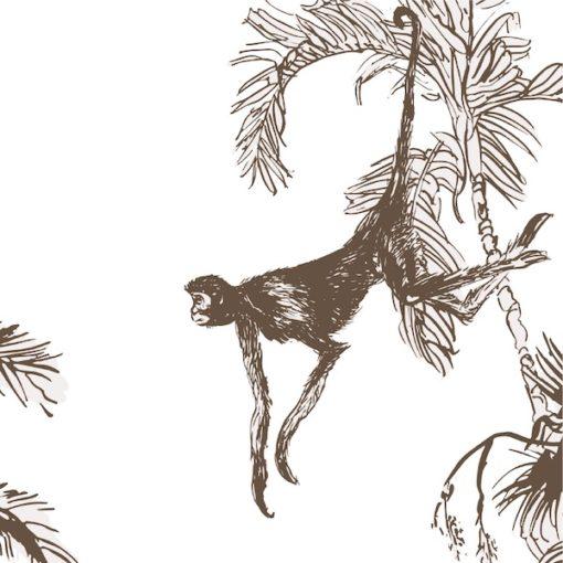 Aapjes in tropische planten