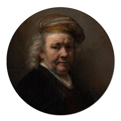 Zelfportret Rembrandt van Rijn