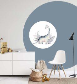 Behangcirkel en muurcirkel dino