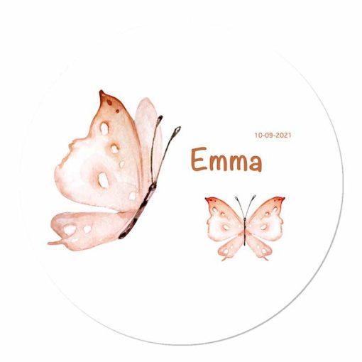 Geboortecirkel kraamkado Vlinders