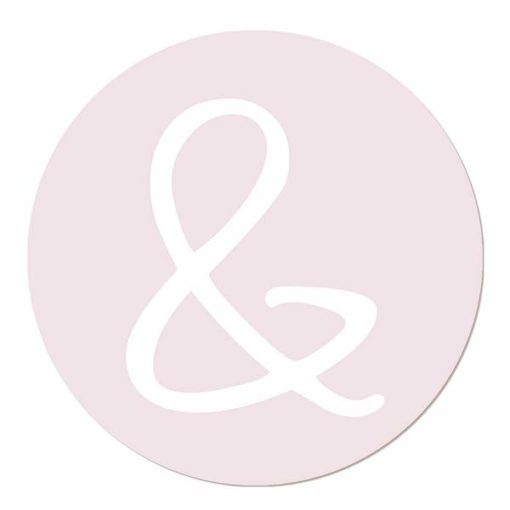 Muurcirkel Letters en symbolen