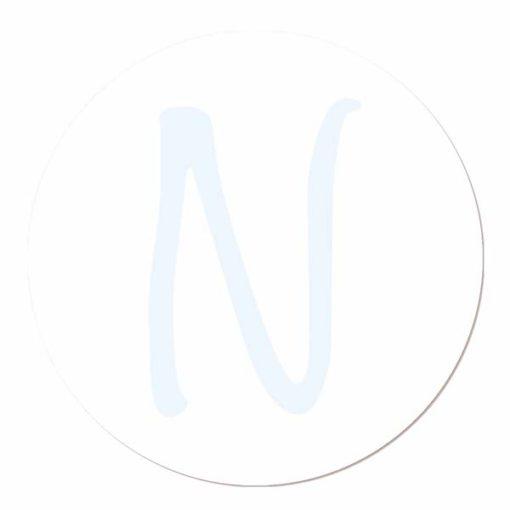 Muurcirkels met letters