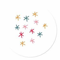 muurcirkel sterren