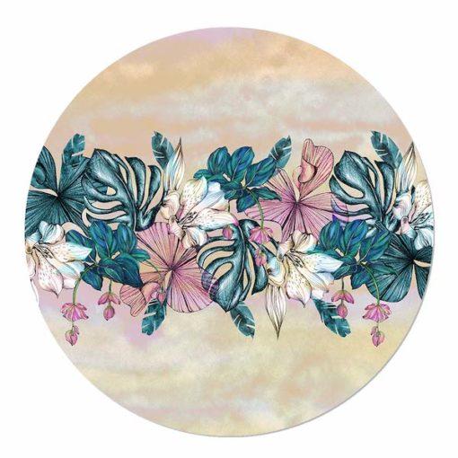 muurcirkel bloemen