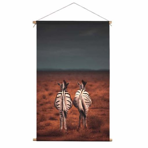 Textielhanger zebra