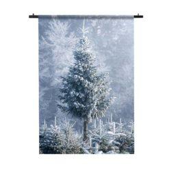 wandkleed kerstboom